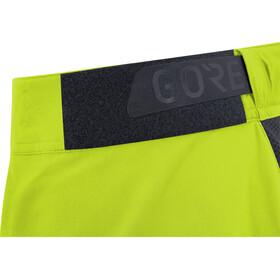 GORE WEAR C5 All Mountain Pantalones cortos Hombre, citrus green